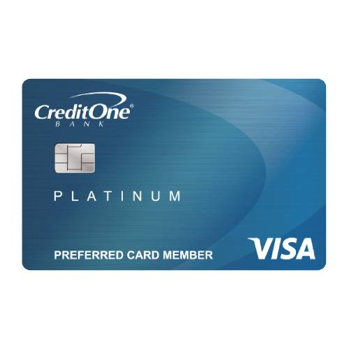 Credit Cards for a 600 Credit Score - Credit One Bank Platinum Visa Review