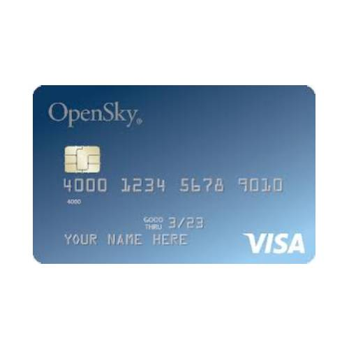 Credit Cards for a 600 Credit Score - OpenSky Secured Visa Review