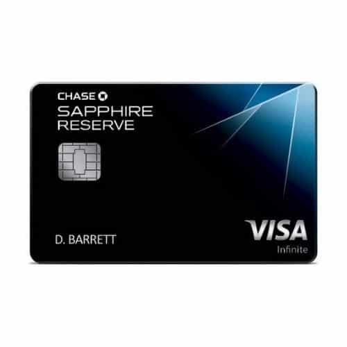 Best Dining Credit Card - Chase Sapphire Reserve Review