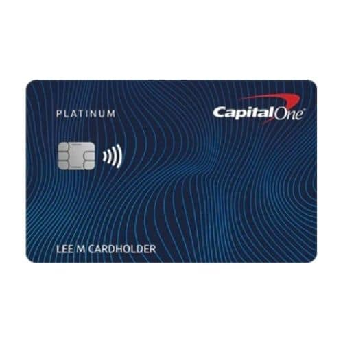 Best Credit Cards for Young Adults - Capital One Platinum Mastercard® Review