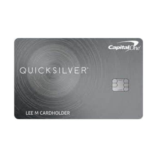 Best Credit Cards for Young Adults - Capital One Quicksilver Rewards Review